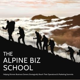 Alpine Biz School Ad